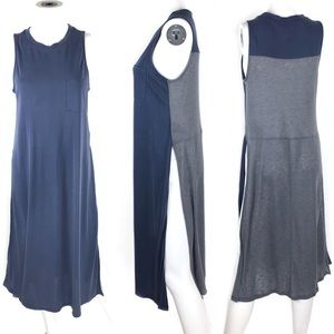 NWT Anthropologie Everleigh High Side Slit Dress